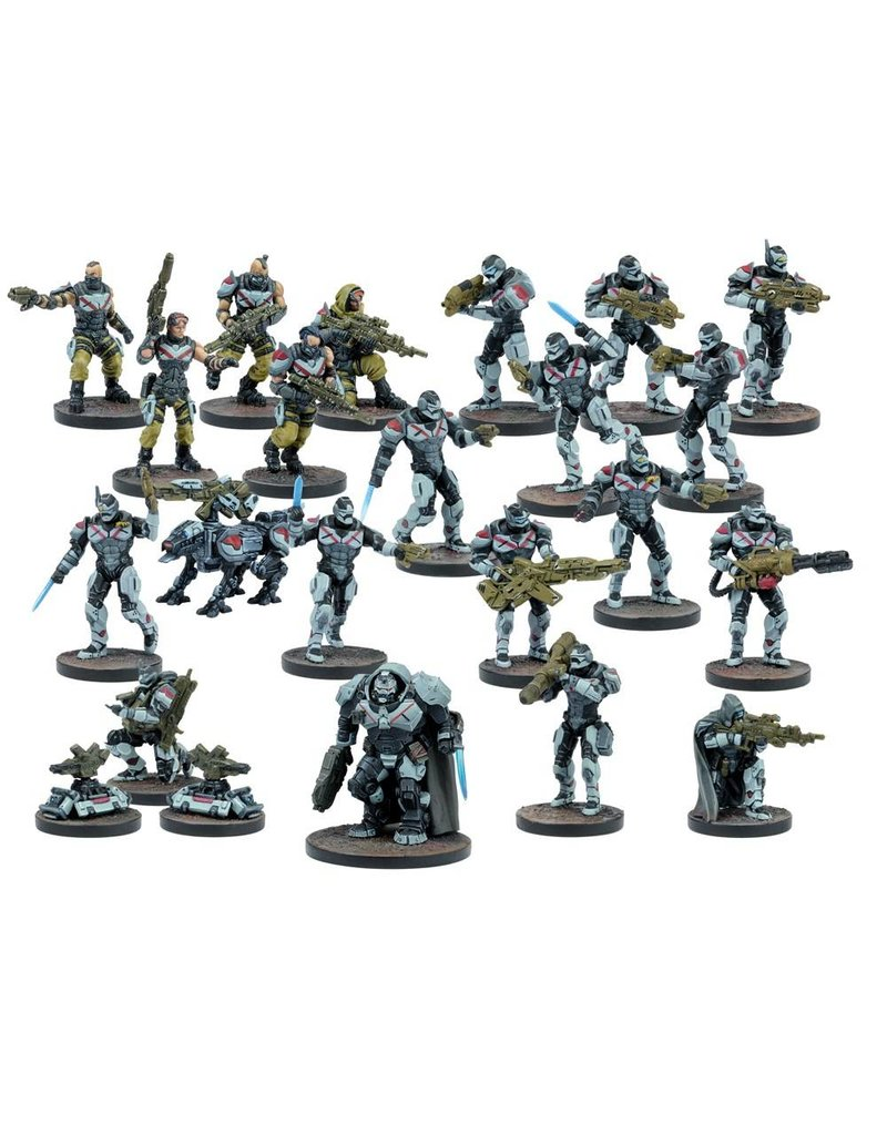 Mantic Games Deadzone / Warpath: Enforcer Faction Starter Army Box Set