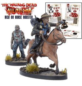 Mantic Games The Walking Dead: Rick on Horse Booster
