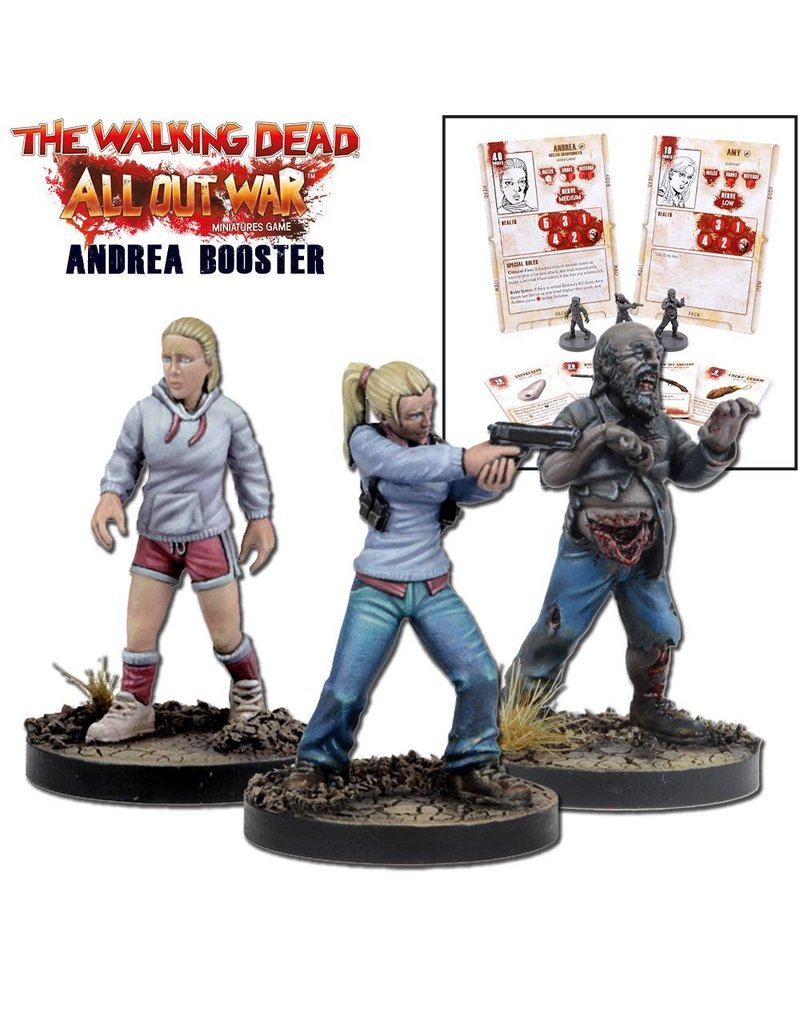 Mantic Games The Walking Dead: Andrea Booster
