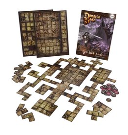 Mantic Games Dungeon Saga: The Black Fortress Tile Pack