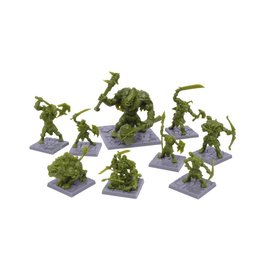 Mantic Games Dungeon Saga: Green Rage Miniatures Set