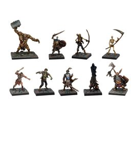 Mantic Games Dungeon Saga: Evil Dead Miniatures Set