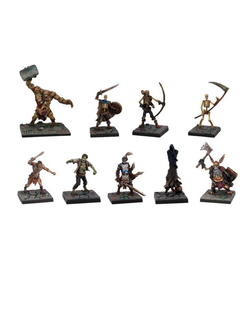 Mantic Games Dungeon Saga: Evil Dead Miniatures Set