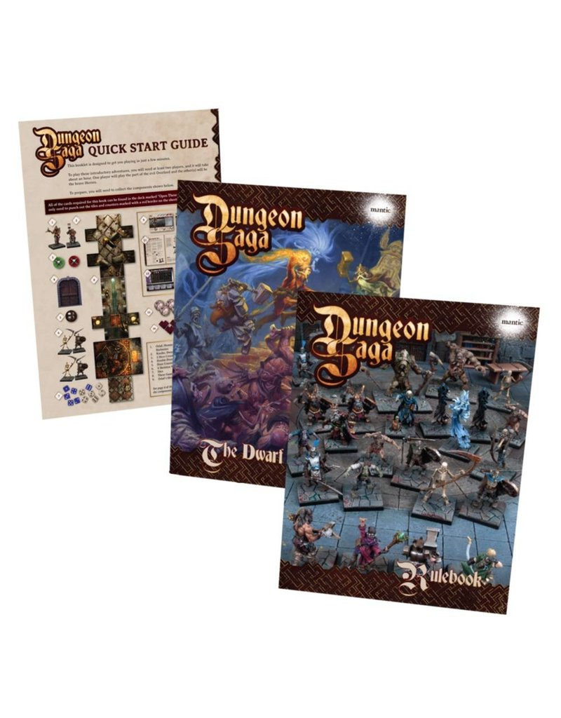 Mantic Games Dungeon Saga: The Dwarf King's Quest Boxed Game