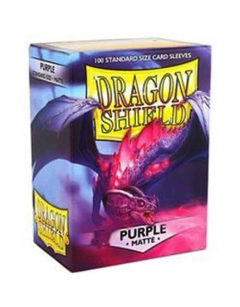 ARCANE TINMEN Dragon Shield Sleeves Matte Purple (100)