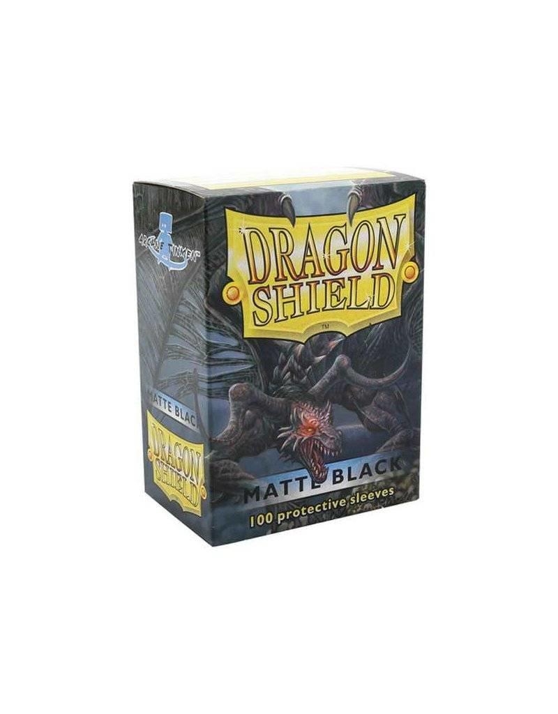 ARCANE TINMEN Dragon Shield Sleeves Matte Black (100)