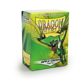 ARCANE TINMEN Dragon Shield Sleeves Matte Apple Green (100)