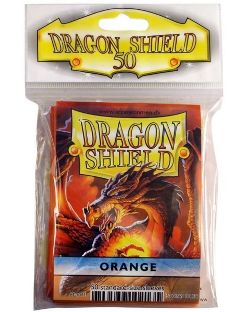 ARCANE TINMEN Dragon Shield Sleeves Orange (50)