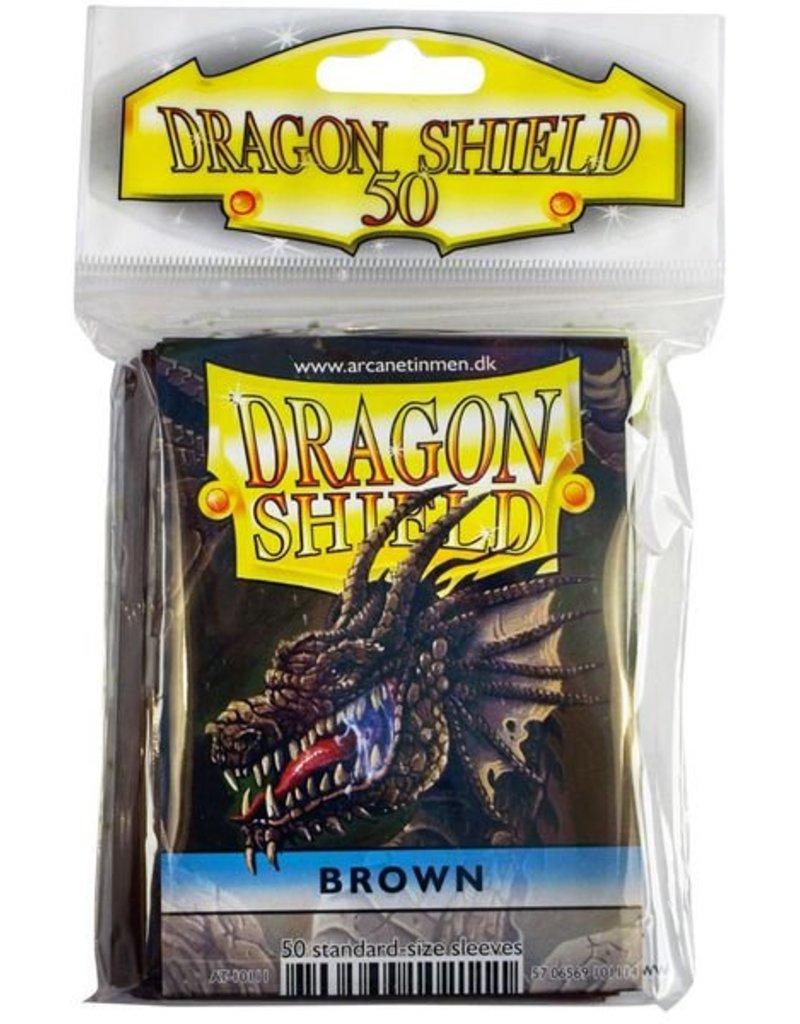 ARCANE TINMEN Dragon Shield Sleeves Brown (50)
