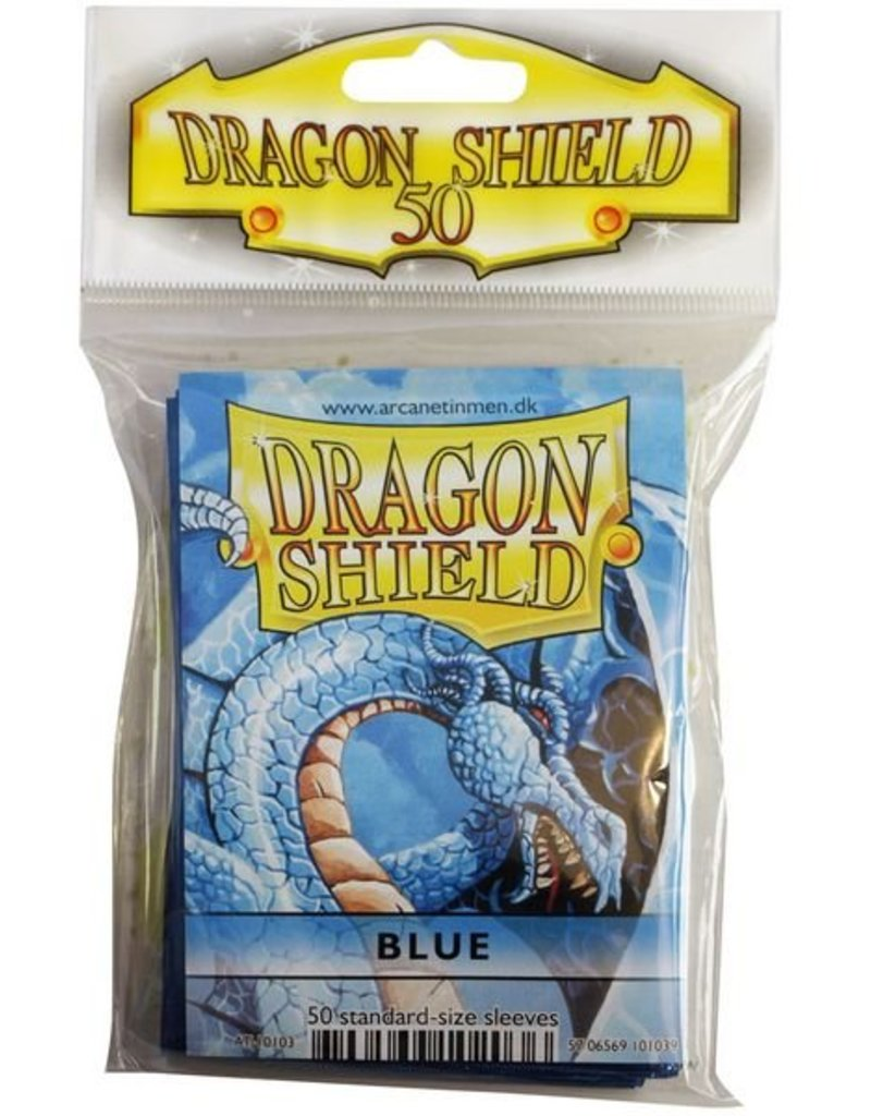 ARCANE TINMEN Dragon Shield Sleeves  Blue (50)