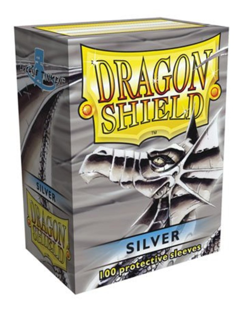 ARCANE TINMEN Dragon Shield Sleeves Silver (100)