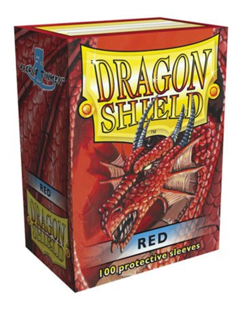 ARCANE TINMEN Dragon Shield Sleeves Red (100)