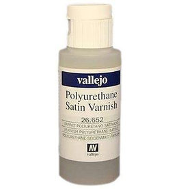 Vallejo Vallejo Polyurethane - Varnish Satin 60ml
