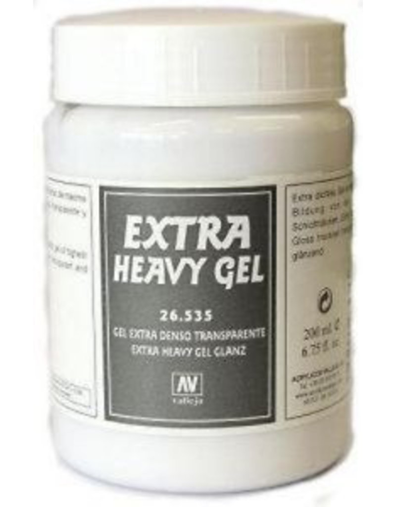Vallejo Diorama Effects - Extra Heavy Transparent Gel 200ml