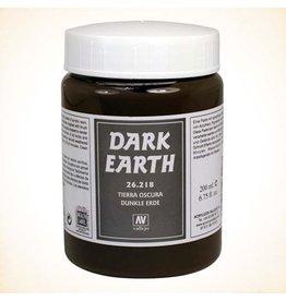 Vallejo Dark Earth Paste 200ml
