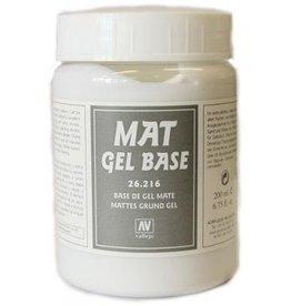 Vallejo Mat Gel Base 200ml