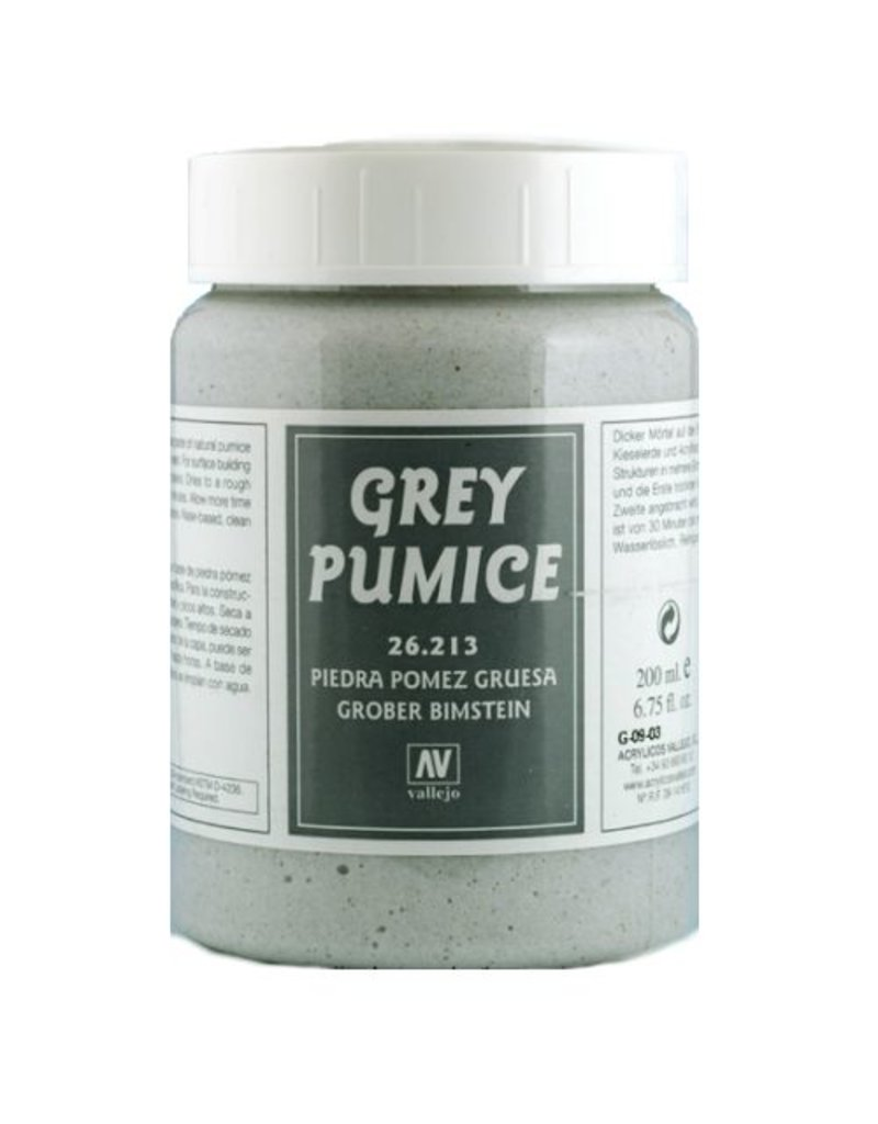 Vallejo Diorama Effects - Rough Grey Pumice 200ml