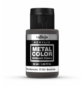 Vallejo Metal Color - Burnt Iron 32ml
