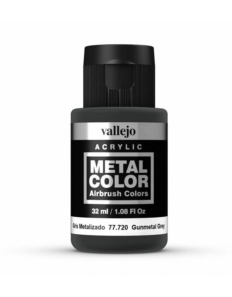 Vallejo Metal Color - Gunmetal Grey 32ml