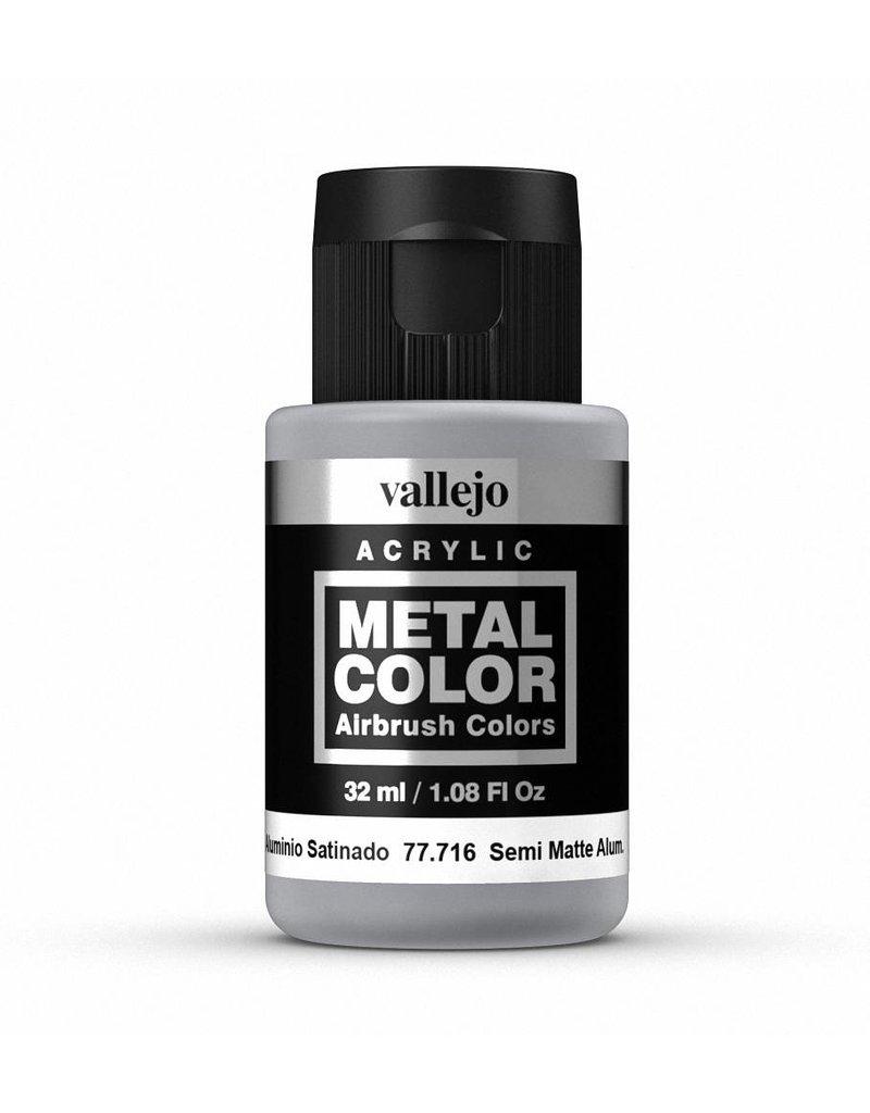 Vallejo Metal Color - Semi Matte Aluminium 32ml
