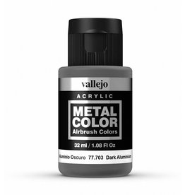 Vallejo Metal Color - Dark Aluminium 32ml