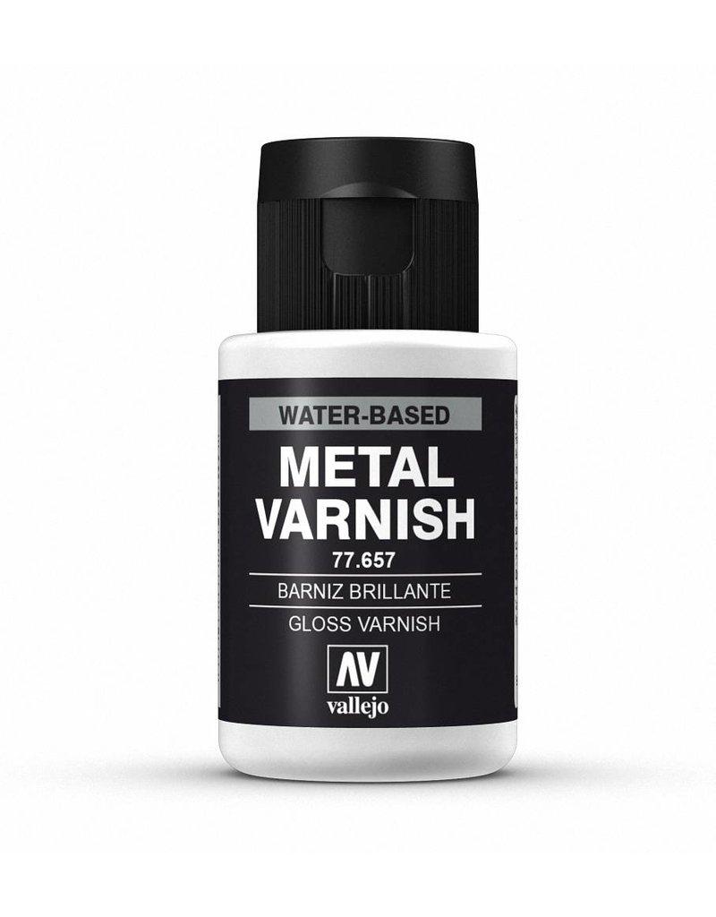 Vallejo Metal Color - Gloss Metal Varnish 32ml