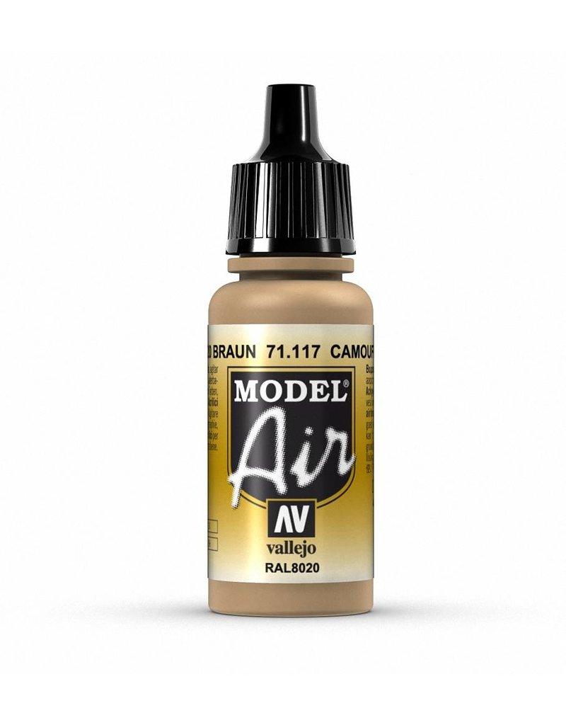 Vallejo Model Air - Camouflage Brown 17ml
