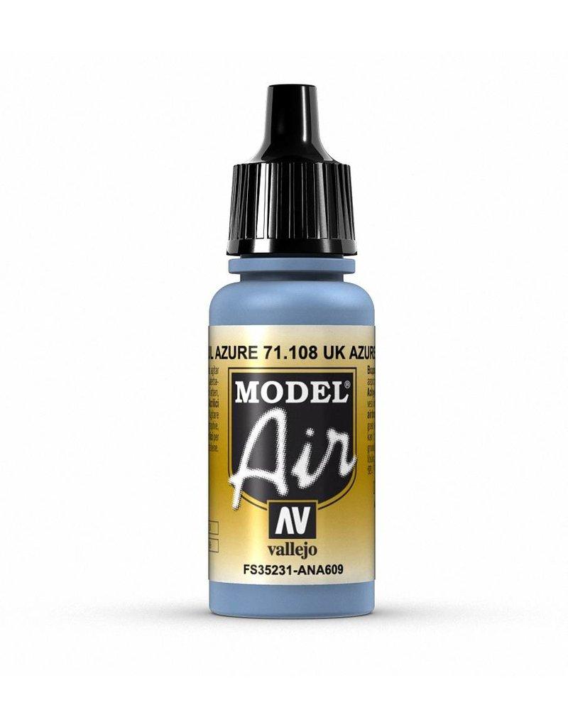 Vallejo Model Air - UK Azure 17ml