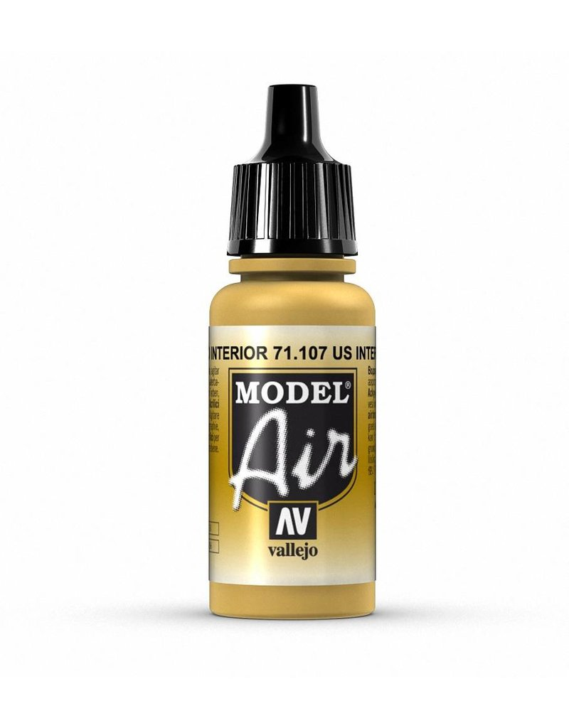 Vallejo Model Air - US Interior Yellow 17ml