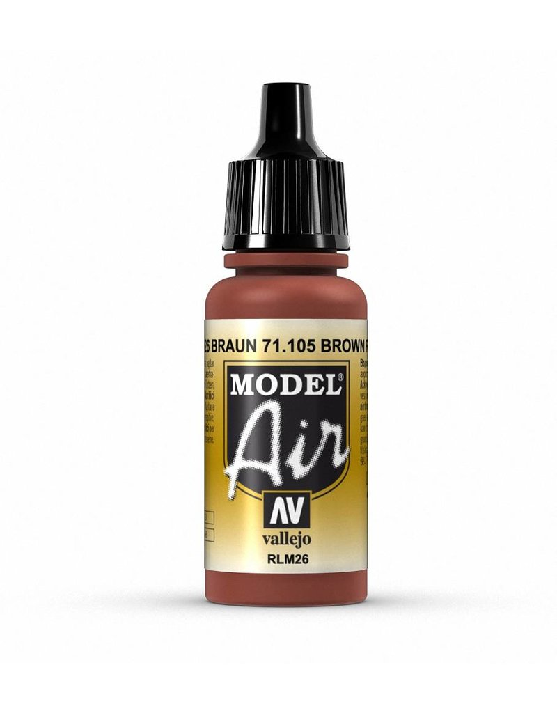 Vallejo Model Air - Brown (RLM 26) 17ml