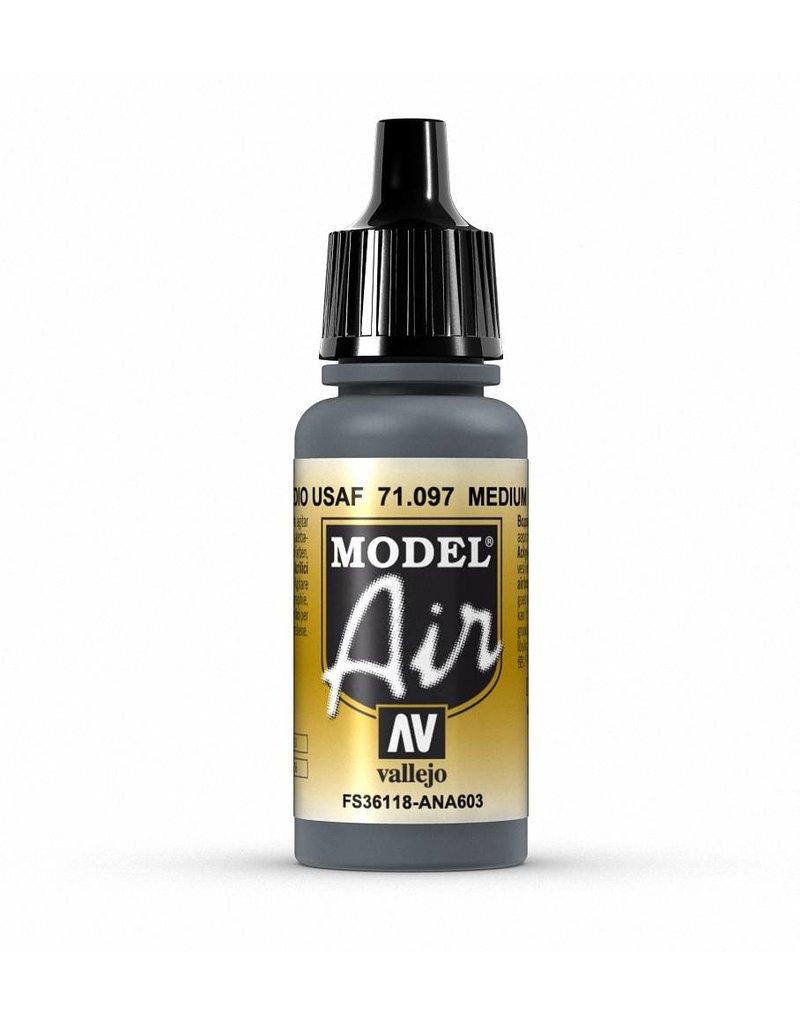 Vallejo Model Air - Medium Grey Primer 17ml