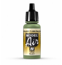 Vallejo Model Air - Pale Green