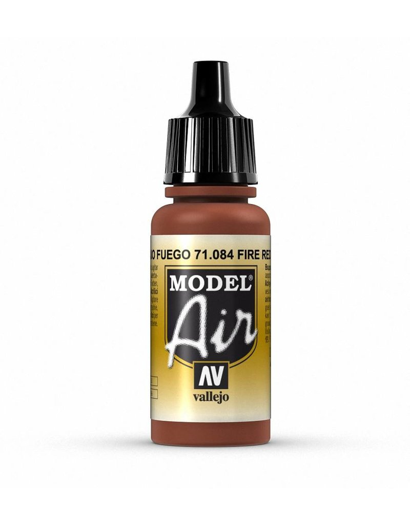 Vallejo Model Air - Fire Red 17ml