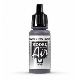 Vallejo Model Air - Black (Metallic)