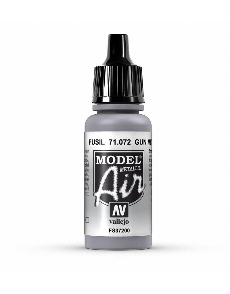 Vallejo Model Air - Gun metal (Metallic) 17ml