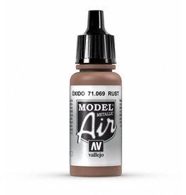 Vallejo Model Air - Rust (Metallic)