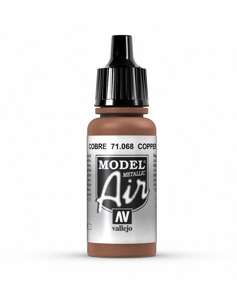 Vallejo Model Air - Copper (Metallic) 17ml
