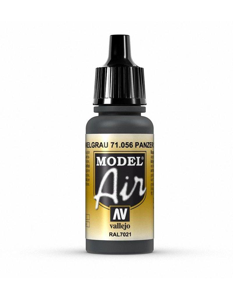 Vallejo Model Air - Black Grey 17ml
