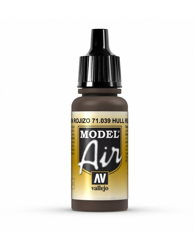 Vallejo Model Air - Hull Red 17ml