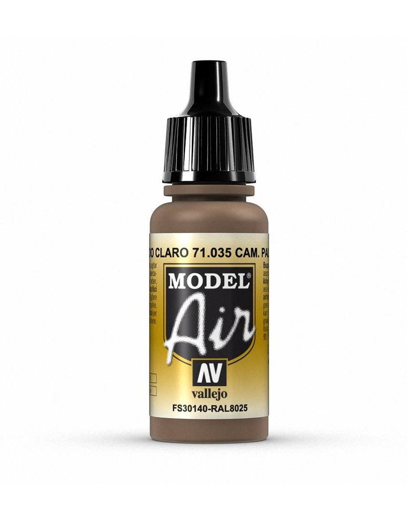 Vallejo Model Air - Camouflage Light Brown 17ml