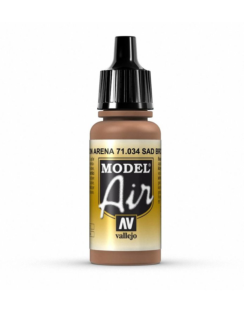 Vallejo Model Air - Sandy Brown 17ml