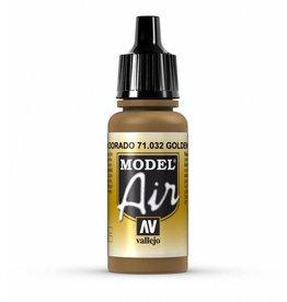 Vallejo Model Air - Golden Brown