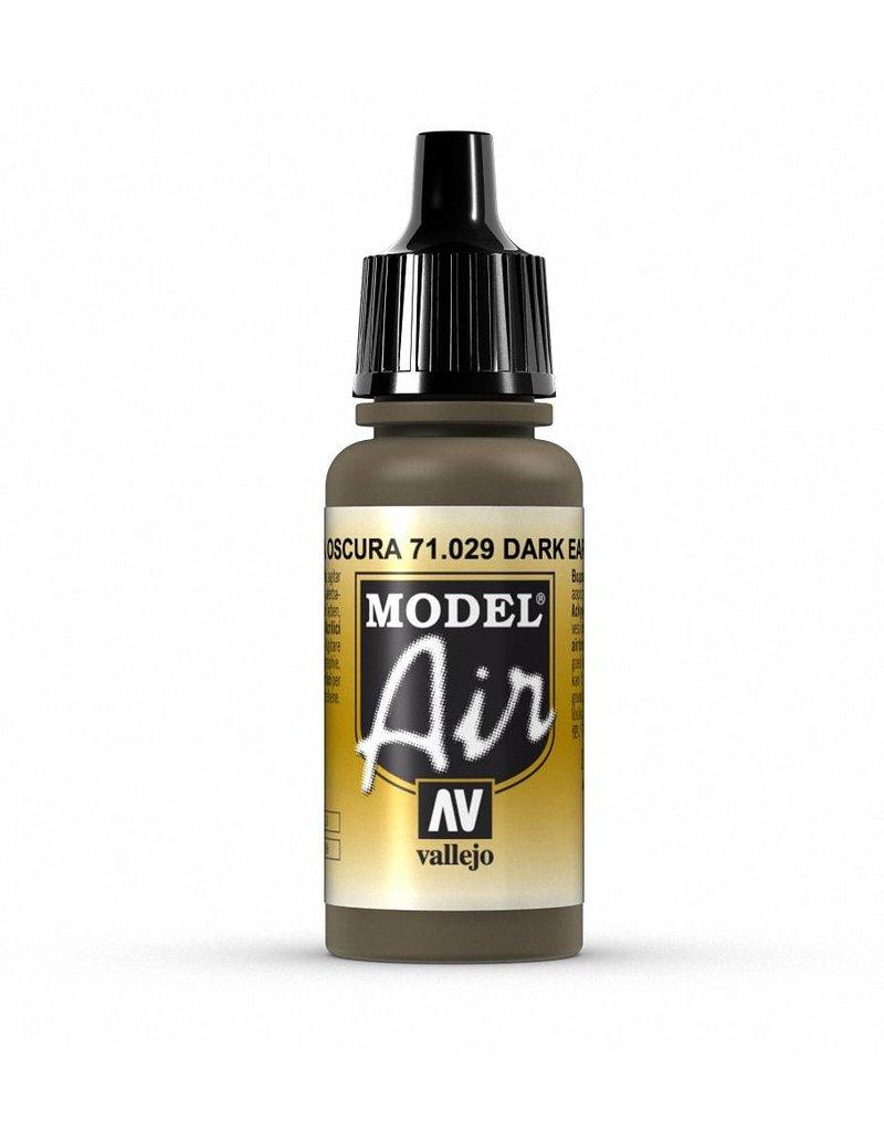 Vallejo Model Air - Dark Earth 17ml