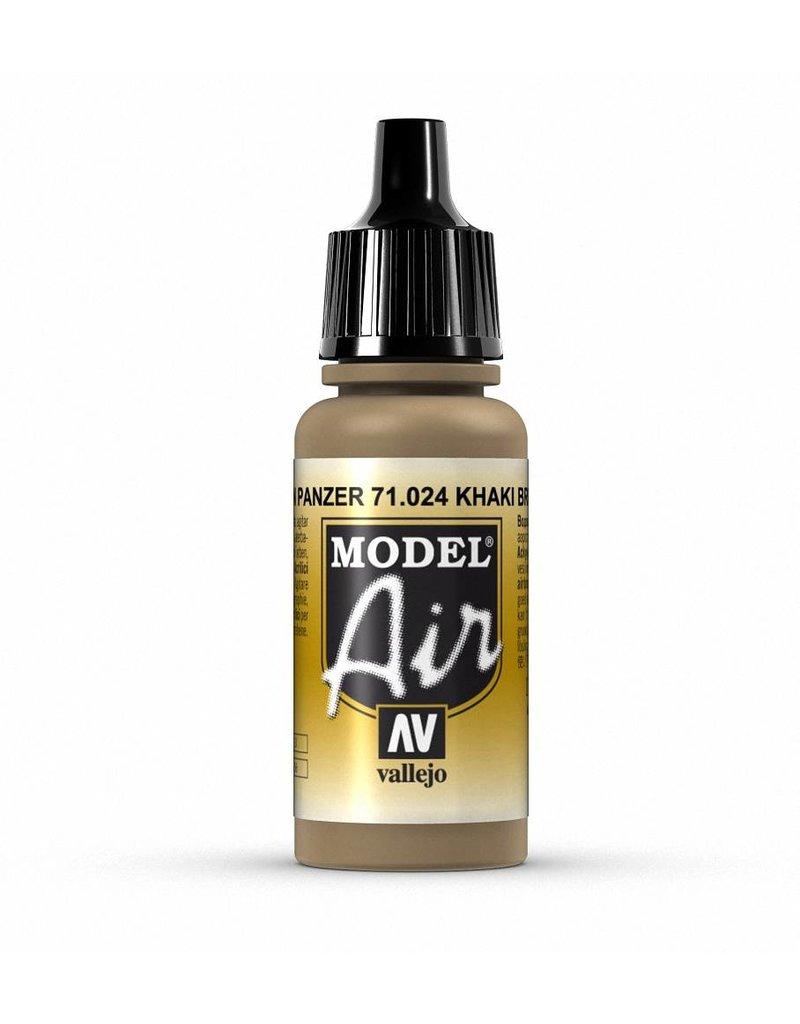 Vallejo Model Air - Khaki Brown 17ml