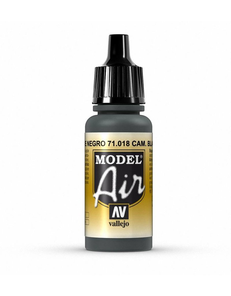 Vallejo Model Air - Camouflage Black Green 17ml