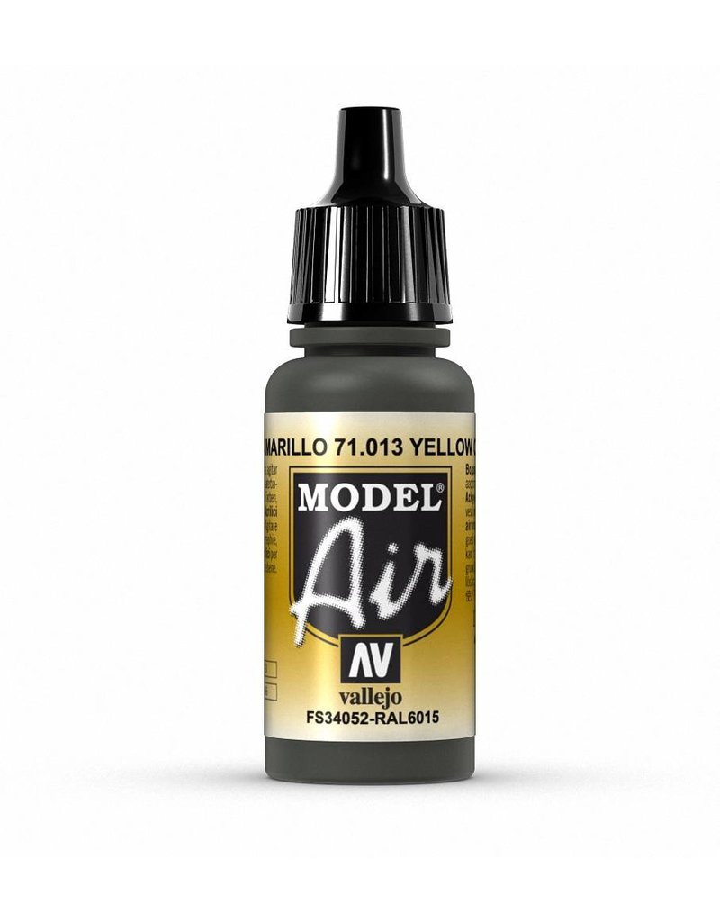 Vallejo Model Air - Yellow Olive 17ml