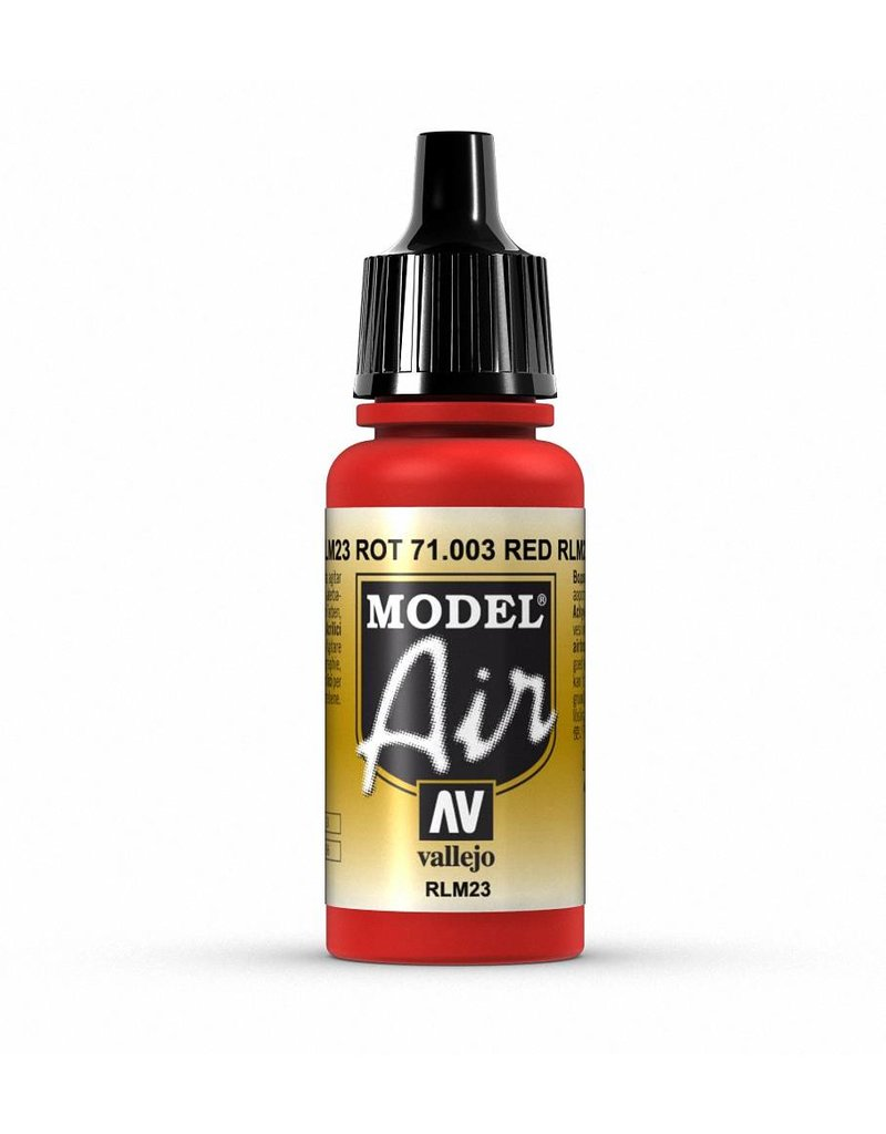 Vallejo Model Air - Scarlet Red 17ml