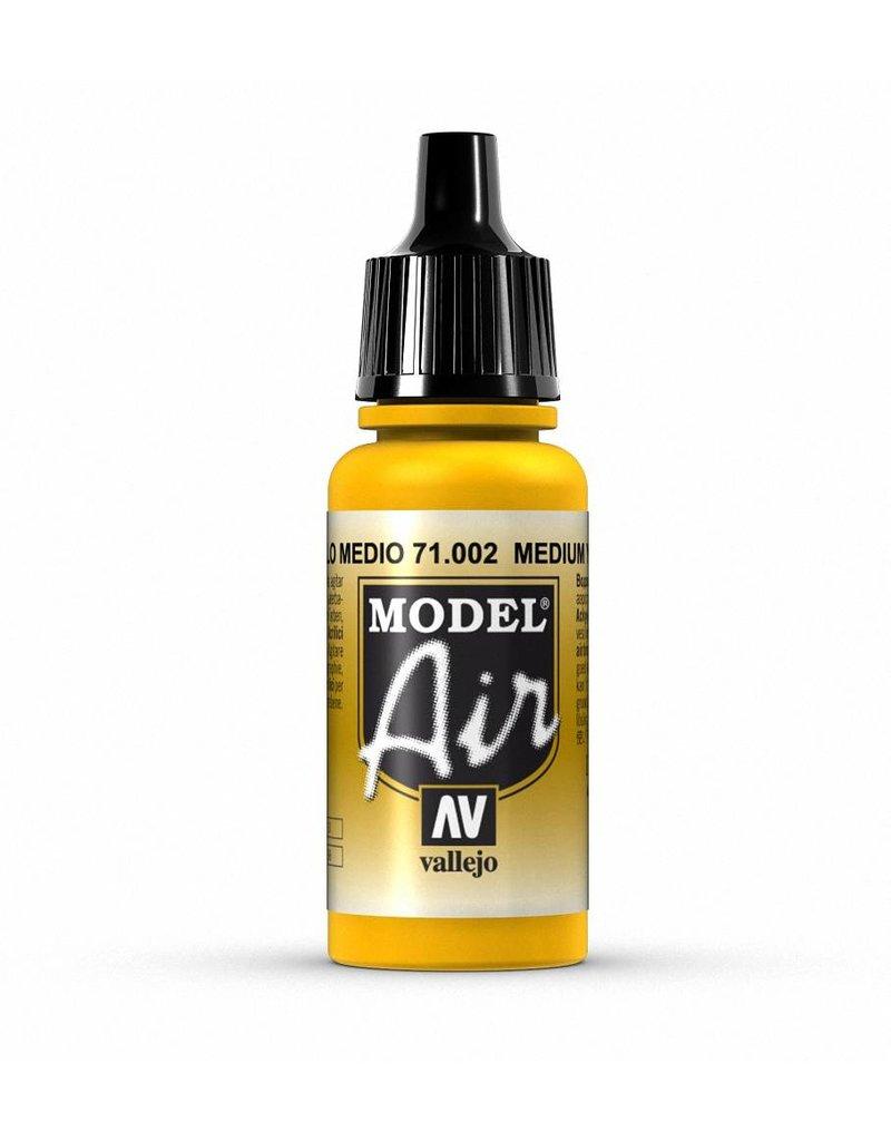 Vallejo Model Air - Yellow 17ml