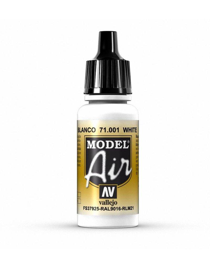 Vallejo Model Air - White 17ml