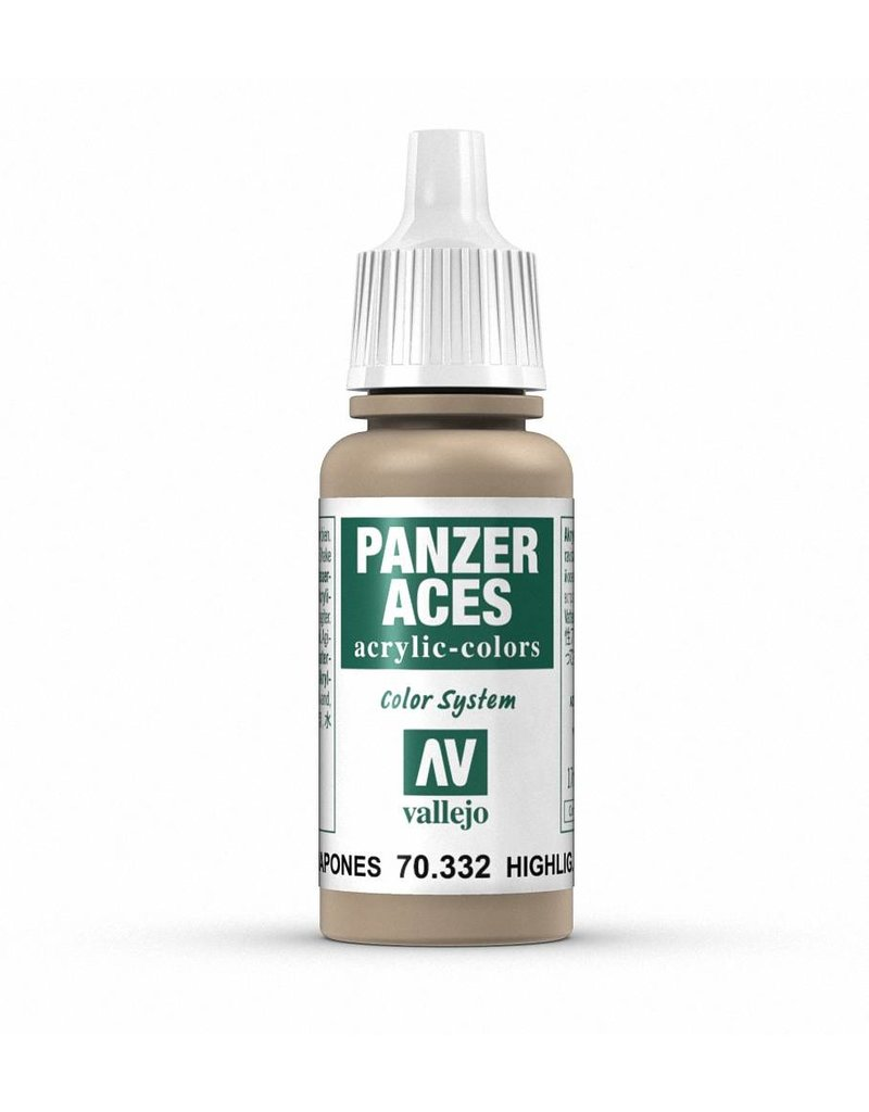 Vallejo Panzer Aces - Highlight Japanese Tank Crew 17ml